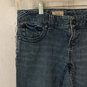 Free People Jeans - FREE PEOPLE Skinny Stretch Distressed Jeans W28